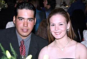 Carlos Aguirre Carmona y Ximena Martinez Moreno.