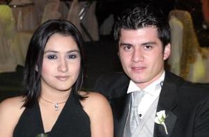 Jessica González y Luis Rubio Álvarez