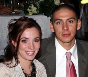 Rita Agüero de Saavedra y Miguel Saavedra