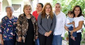 Alma Delia Méndez de Rangel festejó su cumpleaños