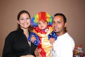 David Abúndez y Tatiana de Abúndez, le organizaron un divertido convivio infantil por su segundo cumpleaños a su pequeña Natalia Abúndez González