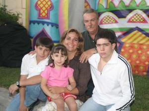 María Susana Ortega Chufani el día de su cumpleaños
