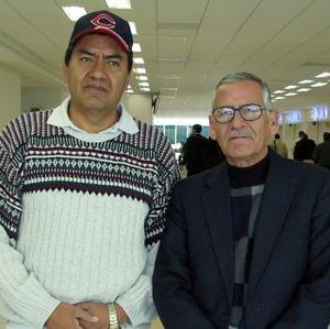 Aurelio Pedroza voló con destino a Cali, Colombia y Buenaventura Reyes a la Ciudad de México