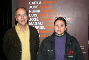 Alonso de Alba y Elsa Lorenia Robles.