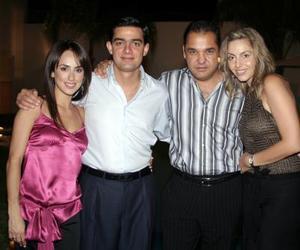 Nessim Issa Tafich y Ramón Franco González festejaron sus cumpleaños con una reunión organizada por Nancy Perella y Scarlett Abularach de Franco.
