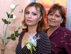 Liliana Pérez García captad en su pasada despedida de soltera