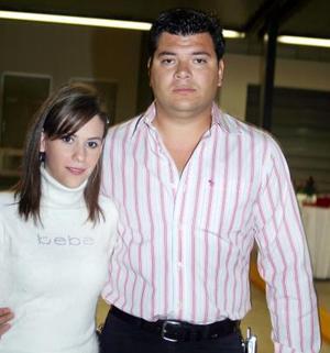Margarita C hiffer y Miguel Arriola