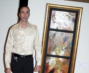 Juan Ignacio Gómez Martín inauguró su colección pictórica
