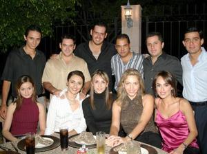 Grata resultó la velada que compartieron Ramón y Nessim con sus familiares y amigos
