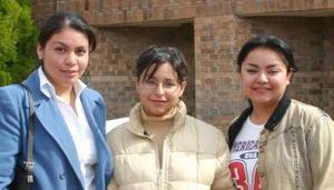 Lucy Ávila, Alma Quezada y Patricia Favela