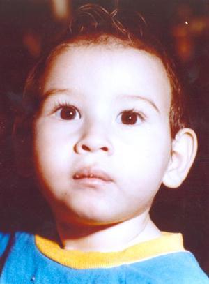 Alejandro Silveyra Goray en su primer año de vida