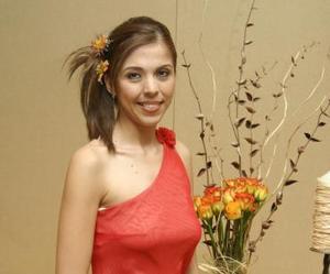 Marisol Medina Rodríguez en su despedida