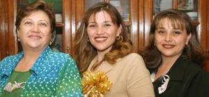 Janeth Molina el día de su despedida de soltera