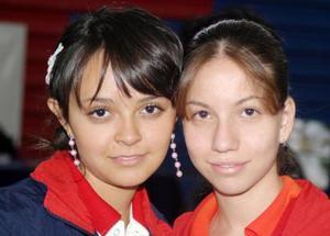 Arely Ayala y Patricia Pereda