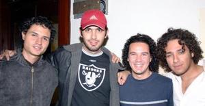 David Gurrola, Andrés González, el Quillo y el Ce Anáhuac