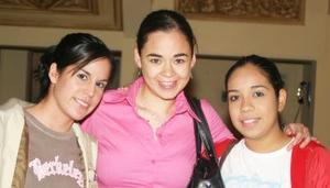 Fabiola Saldívar, Sofía Gómez y María Elena Pineda