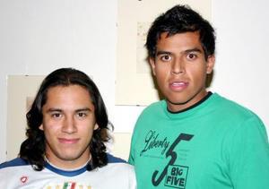 Freddy y Mauricio