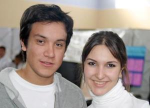 Jorge Garza y Brenda Grajeda