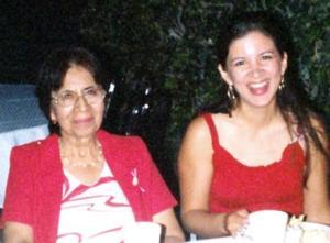 Gloria y Ana pasaron gratos momentos en pasado evento social
