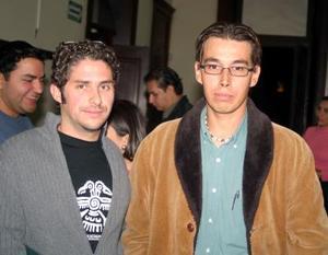 Iñaki Leal y Julio César Félix