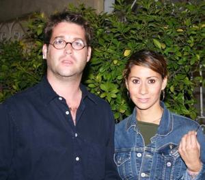 Marco Rodríguez y Yolanda Alonso