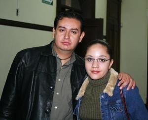Pedro Chávez y Silvia Martínez