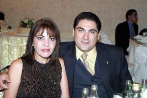 Talhía y José Alberto de León