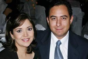 Alejandra y Víctor Mendoza