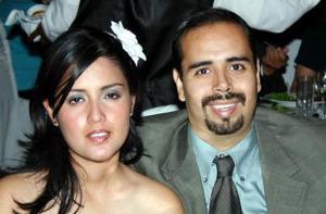 Armando Mercado y Marcela Ayala