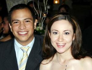 Guillermo Rábago y Blanca Ruiz