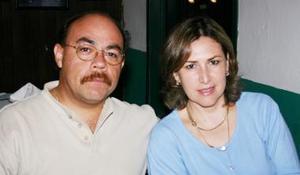 Rafael Sánchez y Alejandra Quirarte