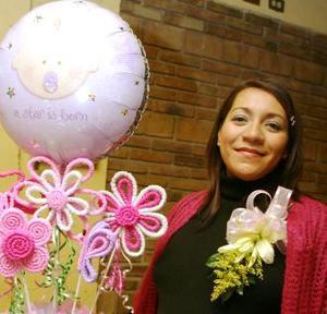 Lucía Galeana espera el nacimiento de su bebé