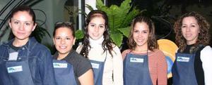 Norma Hernández, Cristy Delgado, Nelly Blackaller, Alma Luján y Katy Riveroll