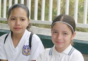 María Fernanda Igualate y Élida Paola Cerda