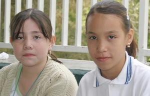 Nora Calvillo y Edith Rodríguez