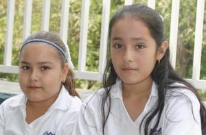 Valeria García y Rocío de Santiago