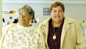 Consuelo Hernández y Martha Salcedo viajaran a Tijuana