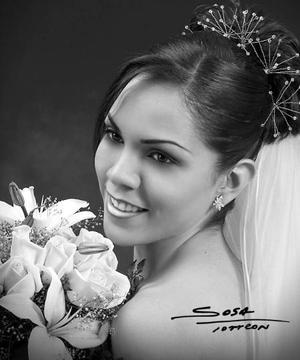 Lic. Victoria Valdez Saldívar, el día de su boda con el C.P. Ernesto Everardo González Aguilera