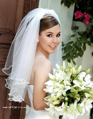 C.P. Mónica Galindo Herrera, el día de su boda con el L.C.E.A. Roberto Rodríguez Madrid.