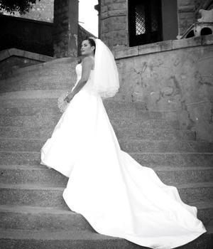 Ing. Leilani Carrillo el día de su boda con el Lic.Juan Francisco Landeros Ortega.