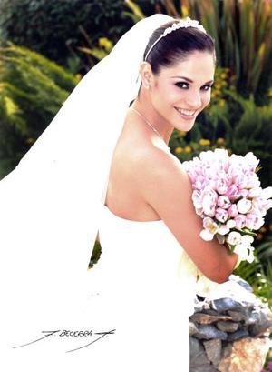 L.D.G. Alejandra Orozco Diosdado, el día de su enlace nupcial con el Ing. Mario Garza Garza