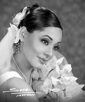 Srita. Consuelo Ramos Álvarez, el día de su enlace matrimonial con el Sr. Omar Alfonso Luján.