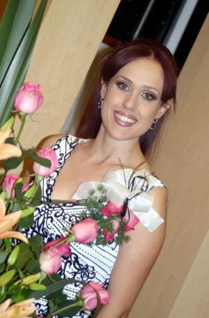 Marina González López disfrutó de una agradable despedida de soltera
