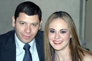 Jaime Rodríguez y Milagros García.