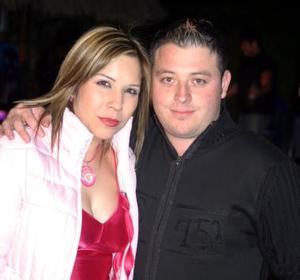 Monserrat Cinseros y Alejandro Bruno.