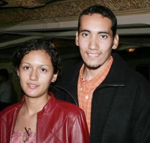 Norib Nuñez e Israel Ortiz.
