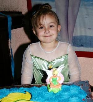 Ángela Estrella Fernández, captada en su cumpleaños