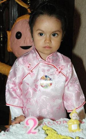<u><i> 17 de noviembre de 2004</u></i><p> La pequeña Adriana Jiménez Contreras disfrutó de una fiesta el día de su cumpleaños