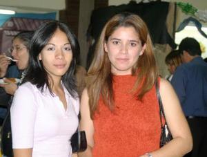 Alma Barrón y Diana Estrada