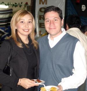 Cecilia Mancha y Alberto Iparrea